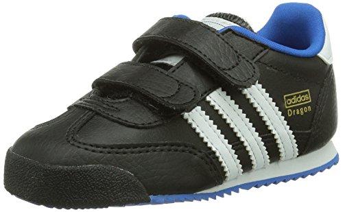 adidas Unisex Baby Dragon Lauflernschuhe, Schwarz (Black/Running White/Bluebird), 26 EU
