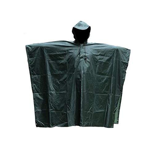 Camouflage Regenjas Waterdicht Outdoor Sport Regenjas Mantel Poncho Camouflage Regenjas Volwassene