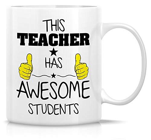 KJKL Interessante Tasse, Dieser Lehrer Hat EIN Tolles Schülerangebot 11 Unzen Keramik Kaffeetasse