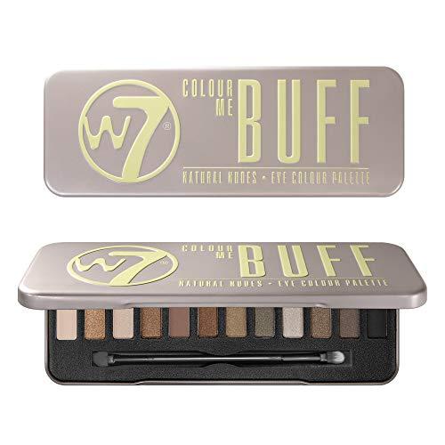 W7 Colour me Buff Palette di 12 Ombretti, Natural Nudes