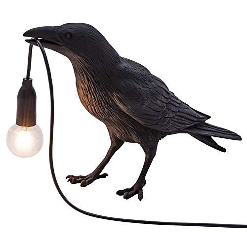Lámpara De Pared De Pájaro De La Suerte, Aplique De Pared LED Moderno, Mini Lámpara De Mesa Lucky Bird De Resina Nórdica, Accesorios De Iluminación, para Bar, Decoración Pasillos Standing
