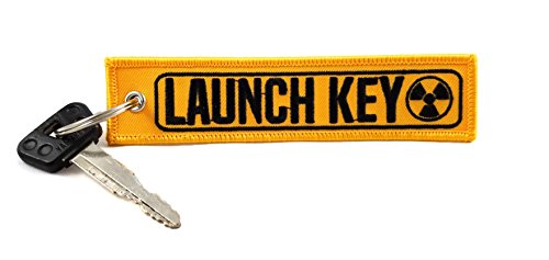 Bibber Buddy MotoMinds Launch Key Keychain - Great for Motorcycles, Cars, Scooters, Gifts, and More (1)