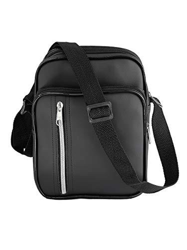 Bolsa Shoulder Bag Pochete Transversal Impermeável (Preto)