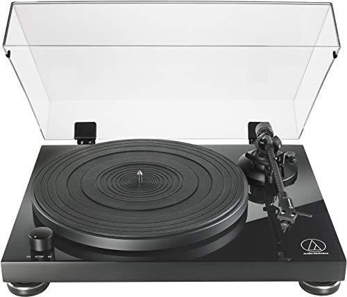 Audio-Technica AT-LPW50PB Fully Manual Belt-Drive Turntable