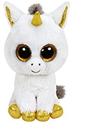 The new Ty line in a retro look With its extremely soft fur and large shiny eyes, it is impossible to resist! Like many Beanie Boos soft toys, Pegasus has a birthday: 12 November. -Collect them all.
