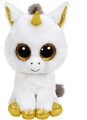 Ty- Peluche, Juguete, Color Blanco, 40 cm (United Labels Ib