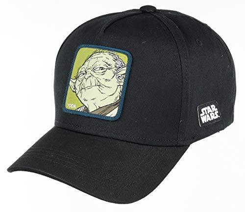 Collabs Gorra Star Wars Yoda Negra Talla Unica