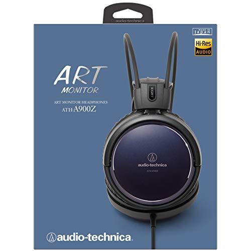 AudioTechnicaARTMONITORヘッドホンハイレゾ音源対応ATH-A900Zブラック