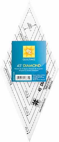 EZ Quilting Lineal, Transparent, 11.4 x 26.7 x 0.3 cm