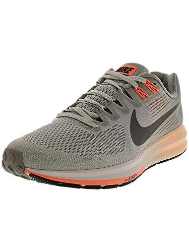 Nike Women's Air Zoom Structure 21 Running Shoe Wolf Grey/Dark Grey-Pure Platinum 7.5