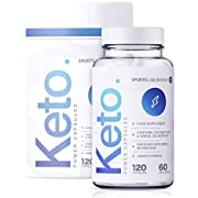 Sports Laboratory Keto Power Diet Pills for Men & Women, 2 Months Supply, Maximum Strength with MCT Oil, Green Tea, Vitamins & Minerals, Fast Slimming Weight Loss, UK Made & Vegan, 120 Capsules