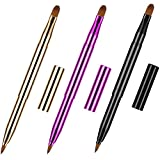 Dual End Lip Brush Concealer Brushes 3 Pieces...