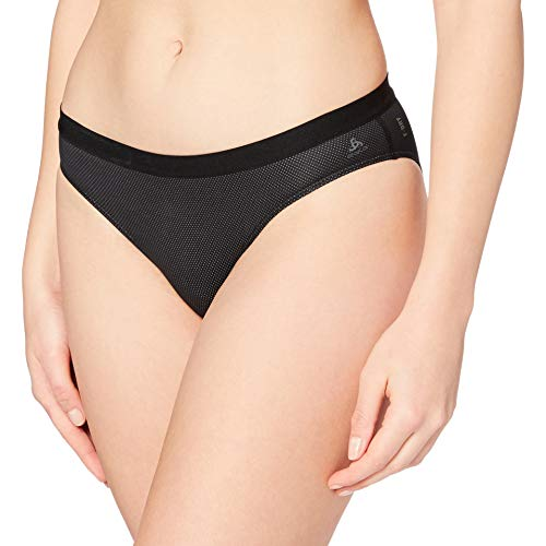 Odlo Damen SUW Bottom Brief Active F-Dry Light Unterhose, Black, M