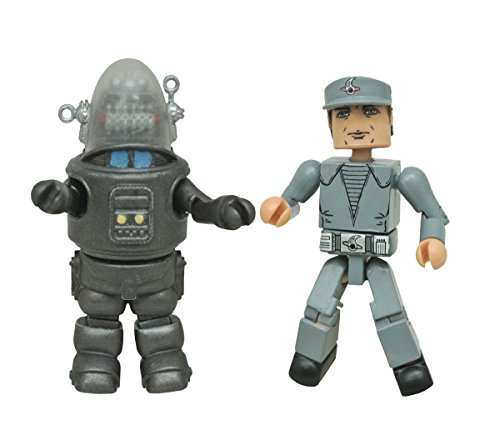 DIAMOND SELECT TOYS Forbidden Planet Robby The Robot & Crewman Minimates Two Pack Action Figure
