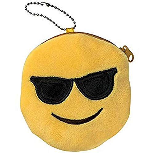 Les Trésors De Lily [Q3078] - Brieftasche 'Emoji' Sonnenbrille - 11 cm.