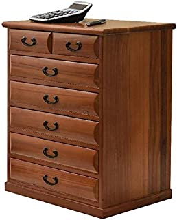 LILIS Caisson de Bureau,Caisson de Rangement classeur de Bureau en Bois casier de Stockage Armoire Basse Bureau 7 tiroirs ...
