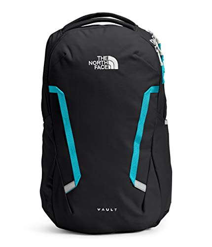 The North Face Women's Vault Backpack, TNF Black/Maui Blue, One Size