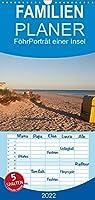 Foehr 2022. Portraet einer Insel - Familienplaner hoch (Wandkalender 2022 , 21 cm x 45 cm, hoch): Die Nordseeinsel Foehr, portraetiert in zwoelf Monaten (Monatskalender, 14 Seiten )