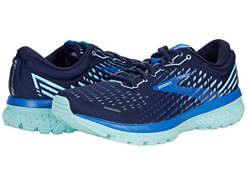 Brooks Zapatillas de running Ghost 13 para mujer, Peacoat/tinte azul/azul fuerte, 40 EU