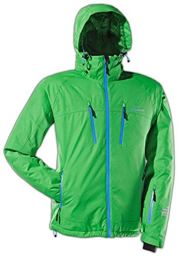 Black Crevice Herren Ski- und Snowboardjacke, grün, 52, BCR251003