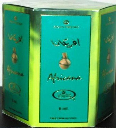 Africana - 6ml (.2oz) Roll-on Perfume Oil by Al-Rehab (Crown Perfumes) (Box of 6) by Al-Rehab