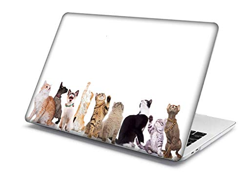 MacBook Pro 15 Case Model:A1707/A1990,QiuHuiCase Plastic Shell Cover Only Compatible 2018-2016 Release MacBook Pro 15' with Touch Bar Touch ID (Animal A 102)