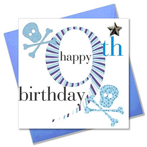 Claire Giles verjaardagskaart voor jongens 9 jaar