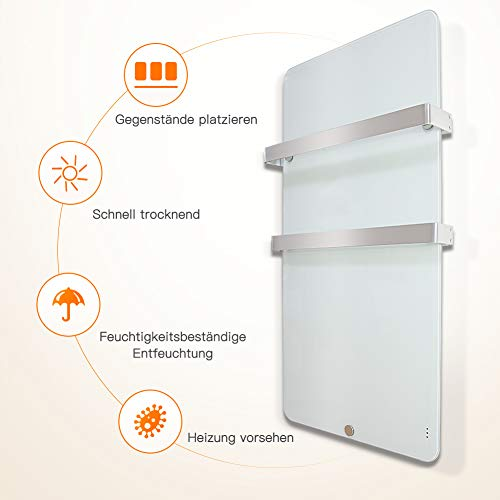 Heizkörper Infrarotheizung Elektroheizkörper Handtuchtrockner Elektrisch Handtuchwärmer kaufen  Bild 1*