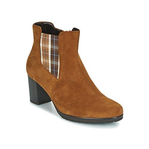 GABOR KAPITU Enkellaarzen/Low boots dames Camel Enkellaarzen