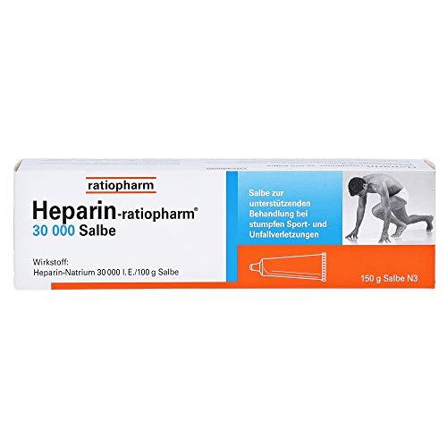 HEPARIN-RATIOPHARM 30.000 Salbe 150 g Salbe 150 g Salbe