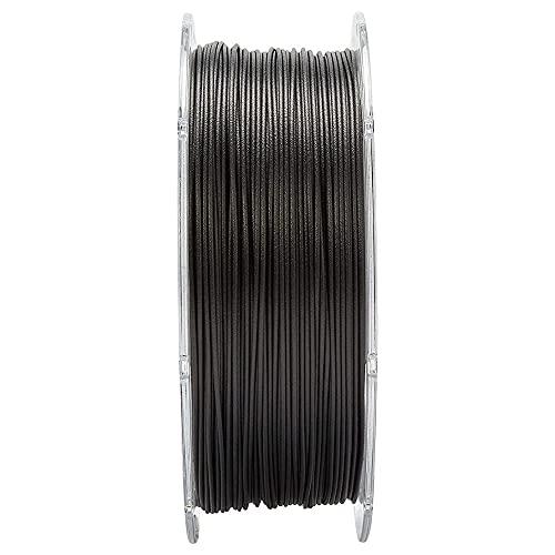 Impresora 3D Filamento Fibra de carbono Reforzado Nylon PA12-CF 1.75mm Alto resistencia al calor, Baja absorción de humedad, Prevención de la peluquería, 500 g