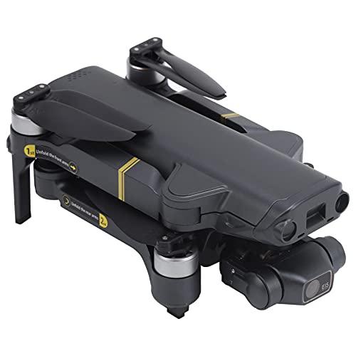 SONK Drone, Quadcopter RC portátil Plegable con cámara Ultra HD de 90 ° ESC/Conmutación de cámara Dual/GPS y Modo de posicionamiento Dual de Flujo óptico/Seguimiento Inteligente