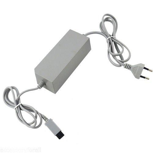 WICAREYO Adaptador de alimentación de CA Cable enchufe de la UE para consola Wii
