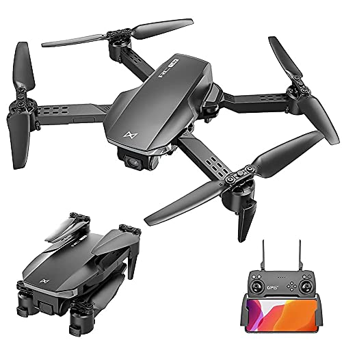 GZTYLQQ Drohne mit Kamera Faltbare GPS...