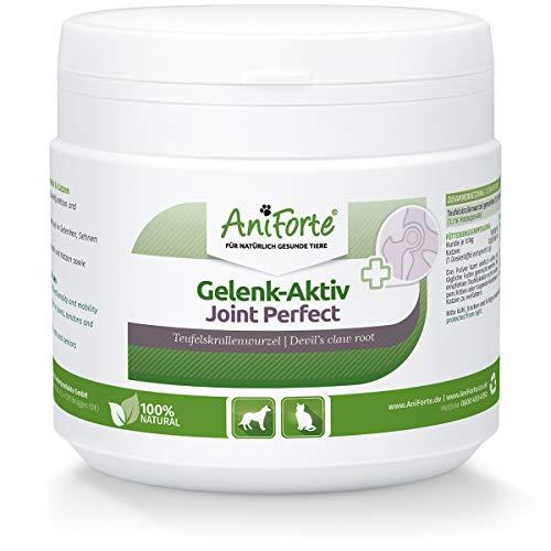 AniForte Gelenk Aktiv Teufelskralle Gelenkpulver für Hunde & Katzen 250g - Teufelskrallen Pulver für Sehnen & Bänder, Unterstützung der Beweglichkeit & Gelenkfunktion, Teufelskralle für Hunde