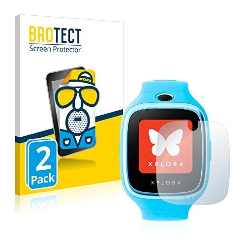 BROTECT 2X Entspiegelungs-Schutzfolie kompatibel mit Xplora Go Bildschirmschutz-Folie Matt, Anti-Reflex, Anti-Fingerprint