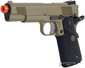 WE Desert Warrior MEU 1911 Pistol GBB Airsoft Gun (Tan)