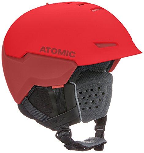 ATOMIC Revent Casco de esquí All-Mountain, Tecnología AMID, Live Fit, Medida de la Cabeza 55-59 cm, Unisex, Rojo, M