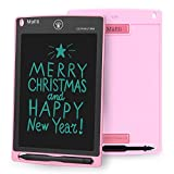 Mafiti LCD Writing Tablet 8.5 Inch Electronic Writing Drawing Pads Portable Doodle Board Gifts for Kids Office Memo Home Whiteboard Pink