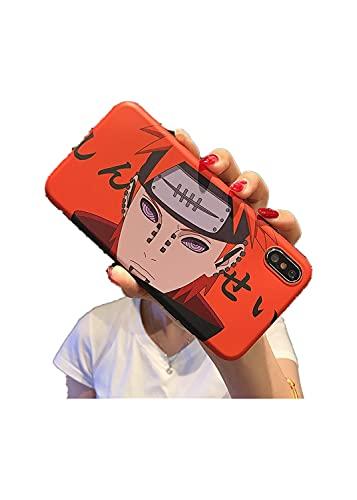 DingHome Cáscara de teléfono móvil Caliente para Manzana 12 Funda de teléfono Soft Shell iPhone7 / 8 / X/XR Defensa de Anime (Color : 4, Size : IPhoneXs MAX)