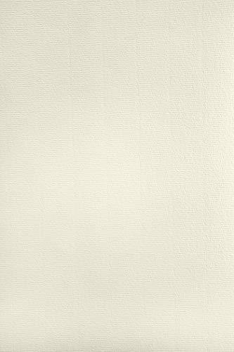 50 x Elfenbein Papier gerippt mit Wasserzeichen DIN A4 297x210mm 120g Aster Laid Ivory hochwertiges Briefpapier Effektpapier mit feiner Rippung Ausstattungspapier Designpapier Urkundenpapier