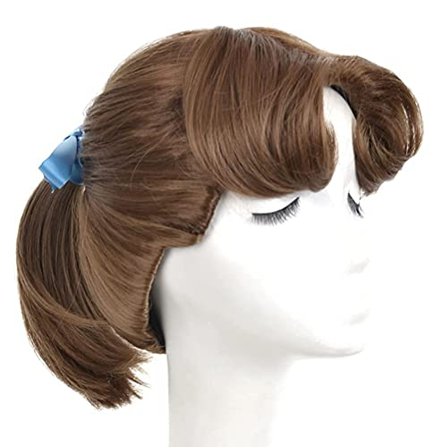 Yuehong Brown Ponytail Wig Cosplay Animation Wig For Women Party...