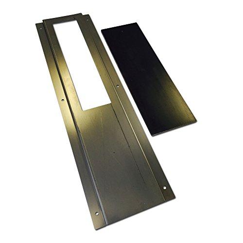 LavaLock® 3 x 10 Slide Damper by BBQ Smoker Supply Weld or Bolt on