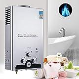 Z ZELUS 8L LPG Hot Water Heater 16KW Stainless Steel Liquefied Petroleum Propane Water Heater Instant...