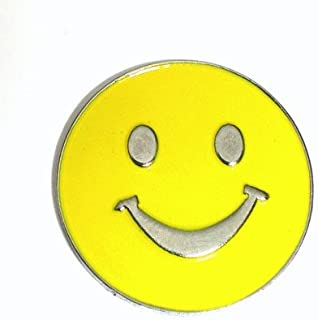 Spilla in Metallo smaltato – Smiley (Giallo)
