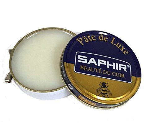 Saphir Beaute Du Cuir Pate De Luxe High Gloss Neutral Shoe Polish 50ml