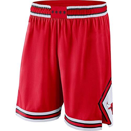 Unknow Nueva Temporada Bulls Basketball Jersey Ball Clothing Gift T-Shirt Basketball Vest Ball Jersey Fans Jersey Chaleco Deportivo (Rojo) - XL-230-rojo_s