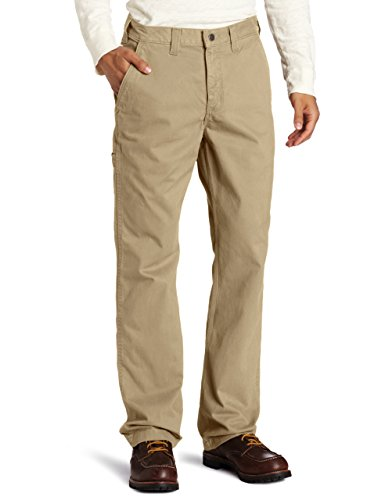 Carhartt Men's Rugged Relaxed Fit Work Pant, Field Khaki, 36W X 32L