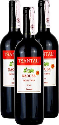 Rotwein lieblich | Rot wein lieblich | lieblicher griechischer Wein | Imiglykos Rot | Roter wein | Wein Rot (Rotwein 3x 750ml)