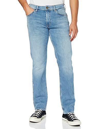 Wrangler Greensboro Jeans, Blu Summer, 30W / 32L Uomo